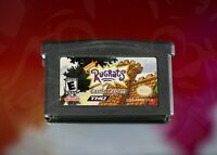 Rugrats Castle Capers [Nintendo Game Boy Advance Evil Angelica Reptar Pizza Slam