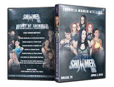 Official Shimmer Women Athletes Volume 80 Female Wrestling Event DVD