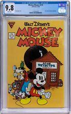 Walt Disney Mickey Mouse #219 - 1st Gladstone issue CGC 9.8 HIGHEST GRADE EVER!