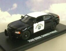 GREENLIGHT 1/43 2008 DODGE CHARGER PURSUIT POLICE CALIFORNIA HIGHWAY PATROL CHiP