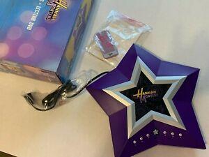 "Disney's Hanna Montana DVD Player w/ Remote *BACK STAGE PASS BOX* TESTED ""RARE"""