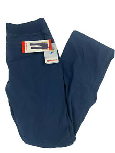 NWT! Marmot Women's Roll-up Active Pants UPF 30+ DWR Sturdy Navy Pic Sz S, M