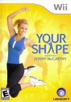 Your Shape: Featuring Jenny McCarthy - Nintendo  Wii Game