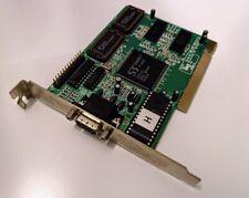 S3 Trio64V+ 2MB PCI VGA Video Card, Vintage, Retro