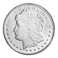 Morgan Design .999 Solid Silver Bullion 1/10 oz.= 3.1 grams