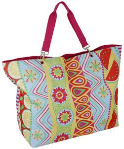 XXXL Badetasche groß Strandtasche Saunatasche Schultertasche Sommerdesign Urlaub