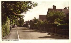Bramley near Wonersh & Guildford. Station Road in RA Series.