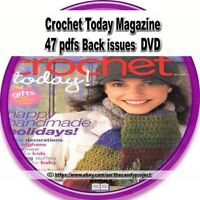 Crochet Today Magazine Vintage DVD 47 pdfs Back issues