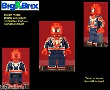 SPIDERMAN PS4 Game Inspired Marvel Custom Printed Lego & Custom Parts Minifigure