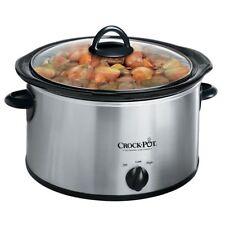 Rival Crock Pot Stoneware Slow Cooker Original 4 Quarts Ideal 3 To 4 People 3040