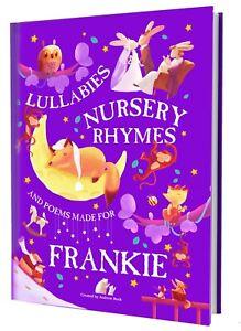 Nursery Rhymes and Personalised Lullabies Book for Toddlers & Newborns PAPERBACK