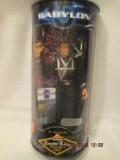 "Babylon 5 Captain John Sheridan 9"" figure limited edition collectors series Box"