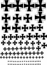 Water Slide Decals Transfers Various Scale German Model Plane Waterslide Sticker