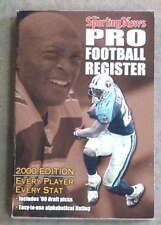 THE SPORTING NEWS TSN NFL FOOTBALL REGISTER - 2000
