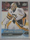 Tristan Jarry 16-17 Upper Deck Young Guns Rookie Card Pittsburgh Penguins. rookie card picture