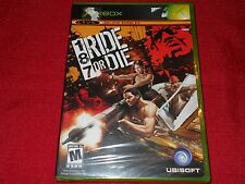 187: RIDE OF DIE XBOX FACTORY SEALED!!!  RARE!!!  FREE FAST SHIP!!!  C@@L!!!!!