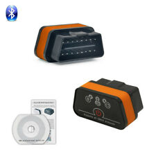 OBDII Small Bluetooth Car Code Reader Scanner Tool ARM Chips OBD2 Diagnostic