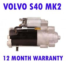 Volvo s40 mk2 mk II 2.0 saloon 2004 2005 2006 2007 - 2015 starter motor