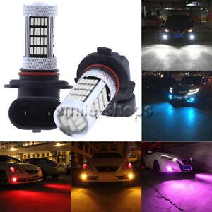 NEW 2x LED Bulbs Conversion Kit Fog Lights Bright HID White Blue Yellow Purple