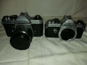 Camera Pentax Km und Pentax MX