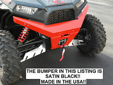 AXIOM SIDE X SIDE Polaris RZR 900 / 1000 / S / XP Front Bumper - SATIN BLACK!!