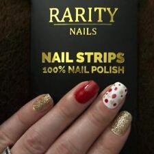 New ~ Rarity Nails ~ 100% Nail Polish Strips ~ You choose ~ FREE Shipping