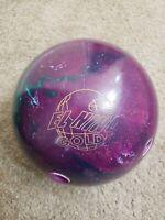 RARE Storm El Nino Gold bowling ball 13.8 LB Bowling ball