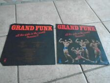 GRAND FUNK / ALL THE GIRLS IN THE WORLD BEWARE  RECORD LP / NICE
