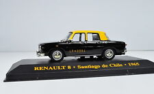 Renault 8 Taxi Santiage De Chile Year 1965 M = 1: 43 by IXO