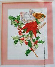 Flower Fairy - Holly Fairy by Helen Brindley