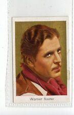 (Jd3771) SALEM,FILM STARS,WARNER BAXTER,1930,#174