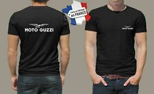 t-shirt personnalisé moto guzzi biker rider motard motorcycle vintage M027