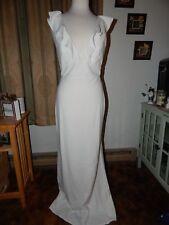 NEW A.B.S. by Allen Schwartz Women's Ruffle Front Gown  Size M