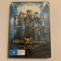 *New Sealed* Pirates Of The Caribbean - Dead Men Tell No Tales (DVD, 2017)