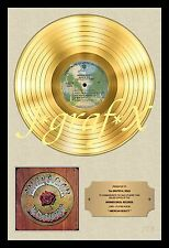 GRATEFUL DEAD - GOLD RECORD - POSTER REPRODUCTION - REALLY COOL ARTWORK!!!