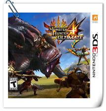 3DS Nintendo MONSTER HUNTER 4 Ultimate Action Capcom