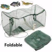 Foldable Fishing Net Trap Crab Cage Crayfish Lobster Live Bait Fish Prawn Shrimp