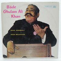 BADE GHULAM ALI KHAN HINDUSTANI CLASSICAL LP VINYL RECORD BOLLYWOOD INDIAN NEW