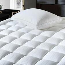 Balichun Pillowtop Queen Mattress Pad Cover 300Tc 100% Cotton Down Alternative
