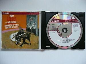 Bychkov conducts Bizet Carmen & L'Arlesieene Paris Orchestra Philips 442 128 CD