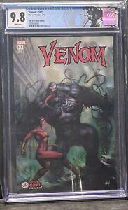 Venom #161 CGC NM+ 9.8 Parrillo Spider Woman -Virgin Variant- custom label