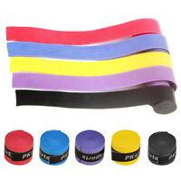 10pcs Stretchy Squash Wrist Sweat Band Absorb Anti-slip Grip Tape Over Grip Tape