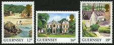 Guernsey 372-374, MNH. Views:Petit Bot beach, St John's Hostel, Le Variouf,1988