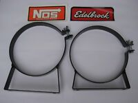 *HOT DEAL! NOS/NX/HOLLEY/EDELBROCK/ 10/15LB COATED STEEL NITROUS BOTTLE BRACKETS