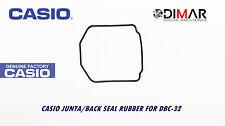 CASIO GUARNIZIONE/ BACK SEAL RUBBER, PER MODELLI. DBC-32