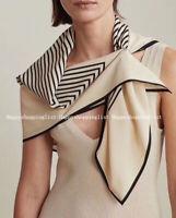 ELEGANT HANDMADE BRAND 100%  Silk Scarf CHIC-10062A