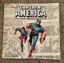 Captain America The 1940's Newspaper Strip (2018) - Comic Book TPB - New!
