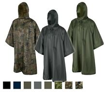 HELIKON-TEX PONCHO U.S. Army WATERPROOF Rain Jacket Survival TARP Military