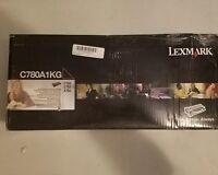 GENUINE LEXMARK C780A1KG RETURN PROGRAM TONER CARTRIDGE C780 C782 X782 OEM AC687