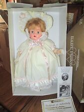 "20"" Horsman Baby Precious Replica of 1939 Doll *Nib *Coa"